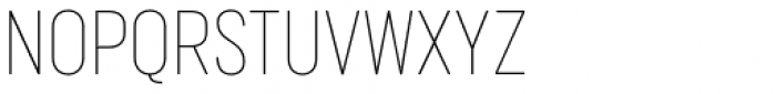 Marsden Condensed Hairline Font UPPERCASE
