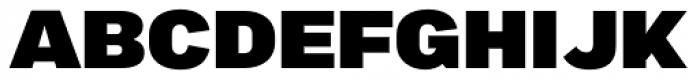 Marsden Extended Black Font UPPERCASE