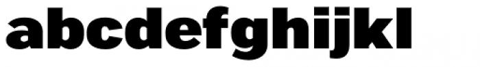 Marsden Extended Black Font LOWERCASE
