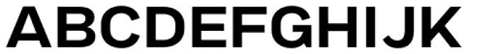 Marsden Extended Semi Bold Font UPPERCASE