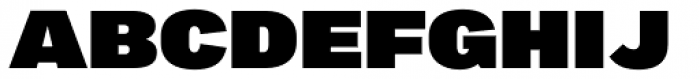 Marsden Extended Ultra Font UPPERCASE