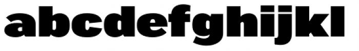 Marsden Extended Ultra Font LOWERCASE