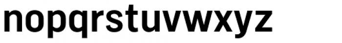Marsden Narrow Semi Bold Font LOWERCASE