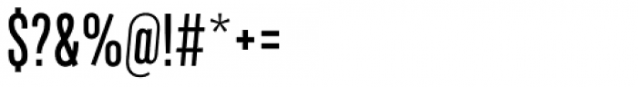 Marsden Slim Medium Font OTHER CHARS