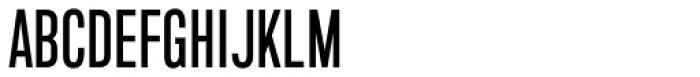 Marsden Slim Medium Font UPPERCASE