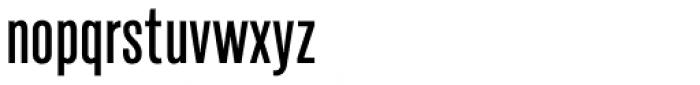 Marsden Slim Medium Font LOWERCASE