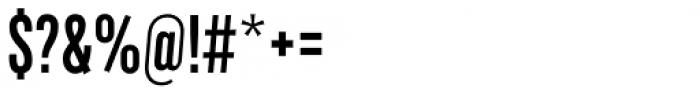Marsden Slim Semi Bold Font OTHER CHARS