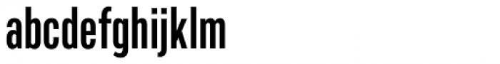 Marsden Slim Semi Bold Font LOWERCASE
