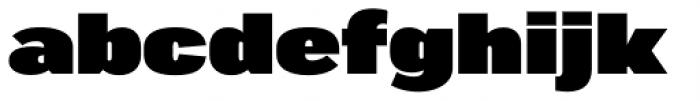 Marsden Super Font LOWERCASE
