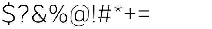 Marsden Text Light Font OTHER CHARS