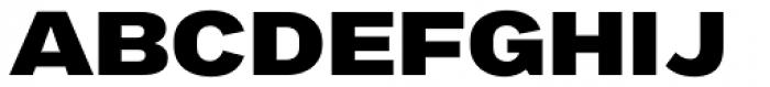 Marsden Wide Heavy Font UPPERCASE
