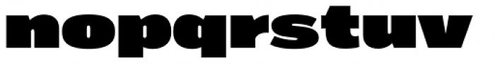Marsden Wide Super Font LOWERCASE