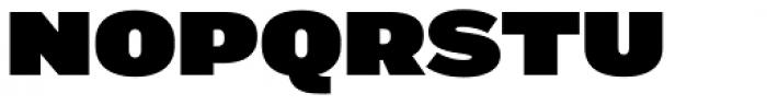 Marsden Wide Ultra Font UPPERCASE