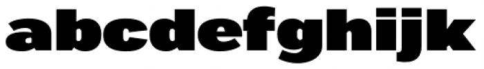 Marsden Wide Ultra Font LOWERCASE