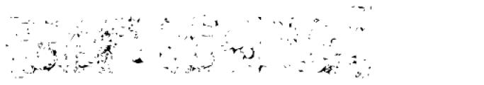 Marsh Mallow Dirt Font UPPERCASE