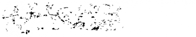 Marsh Mallow Dirt Font LOWERCASE