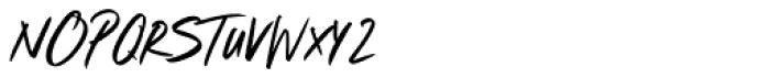 Marshmallow Hot Chocolate Regular Font UPPERCASE
