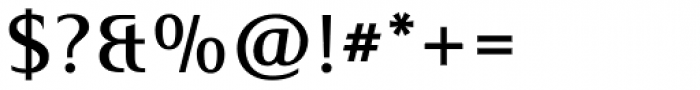Mart Medium Font OTHER CHARS
