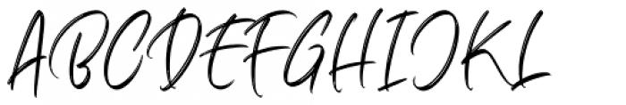 Marthiline Regular Font UPPERCASE