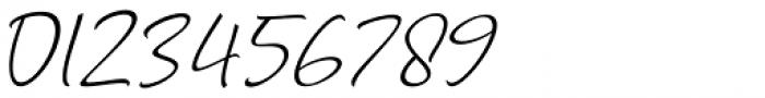 Marthin Slant Font OTHER CHARS