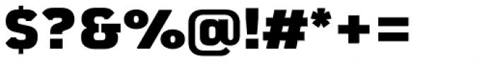 Martian B Black Font OTHER CHARS