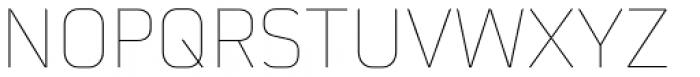 Martian B Thin Font UPPERCASE