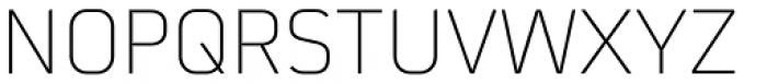 Martian B Ultra Light Font UPPERCASE