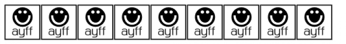 Martian Tiles Dots AAA Font OTHER CHARS