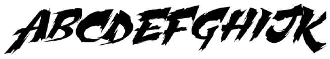 Martyric Font UPPERCASE