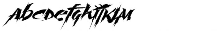 Martyric Font LOWERCASE