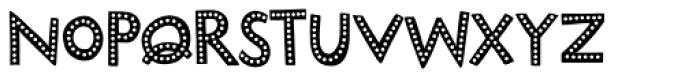 Marujo Dotface Font UPPERCASE