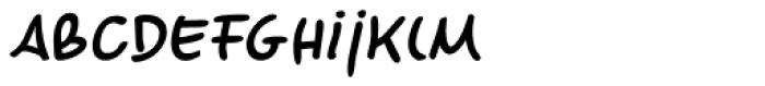 Marvaloha Bold Italic Font LOWERCASE