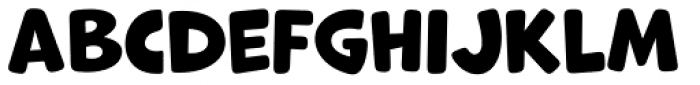 Marvin Round Font LOWERCASE