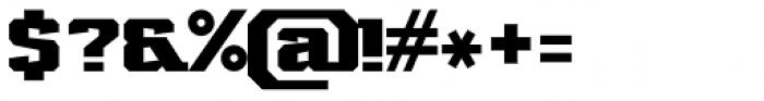 Marvin Slab Bold Font OTHER CHARS
