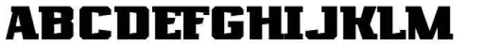 Marvin Slab Bold Font UPPERCASE