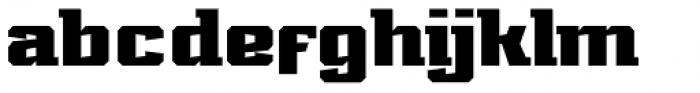 Marvin Slab Bold Font LOWERCASE