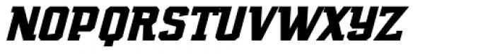Marvin Slab Italic Font UPPERCASE