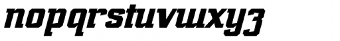 Marvin Slab Italic Font LOWERCASE