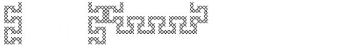 Mary Border G Font LOWERCASE