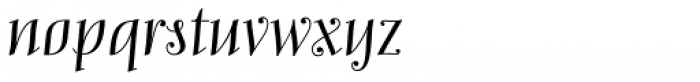 Mary Read Regular Font LOWERCASE