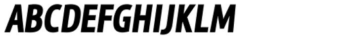 MaryTodd Black Italic Font UPPERCASE