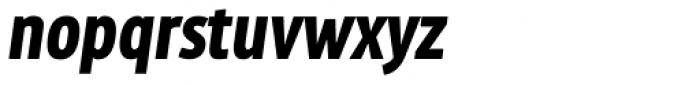 MaryTodd Black Italic Font LOWERCASE