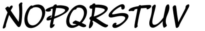 Masato Bold Italic Font UPPERCASE