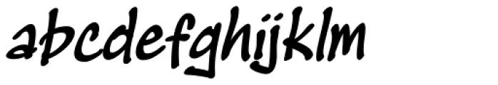 Masato Bold Italic Font LOWERCASE
