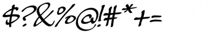 Masato Italic Font OTHER CHARS