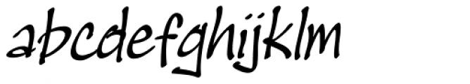 Masato Italic Font LOWERCASE
