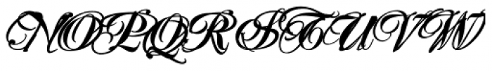 Mascara Bold Font UPPERCASE