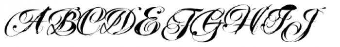 Mascara Font UPPERCASE