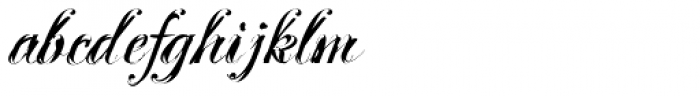 Mascara Font LOWERCASE