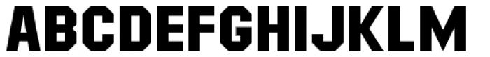 Masheen Bold Font LOWERCASE